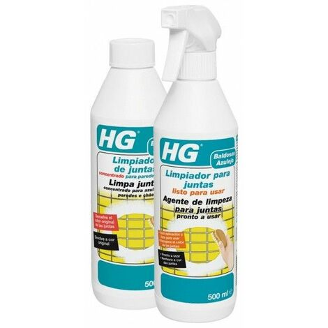 HG - Limpiador de juntas concentrado para paredes y suelos.