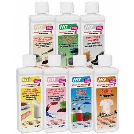 HG - Limpiador de manchas Nº 1-7