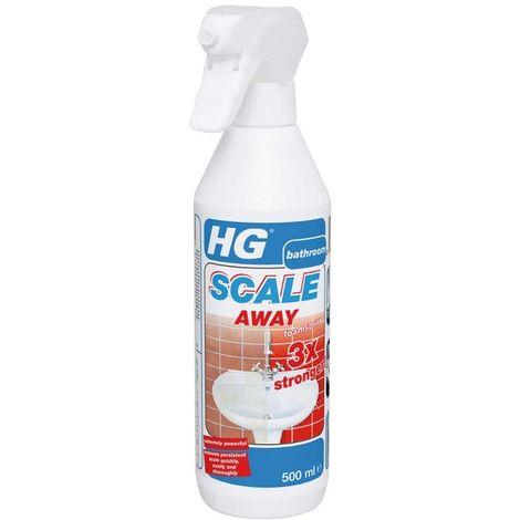 HG Scale Away Cleaner - 3 x Stronger Foam Spray - 500ml