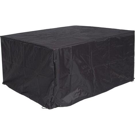 HHG-655, couverture bâche de protection, meubles de jardin barbecue extérieur, 70x150x120cm, anthracite