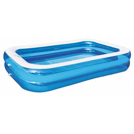 HI 62164 Familien Pool 211x132x46cm transparent-blau