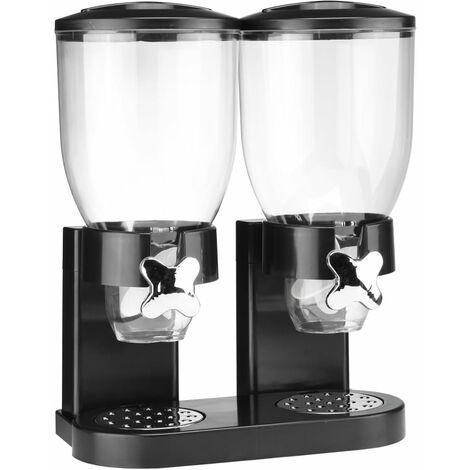 HI Duo Cereal Dispenser Black 2 x 3.5 L
