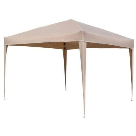 HI Foldable Party Tent 3x3 m Beige - Beige