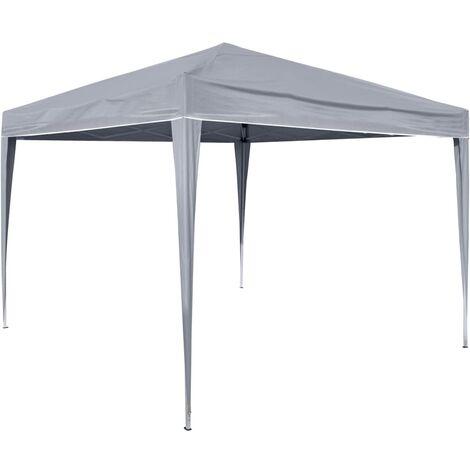 HI Foldable Party Tent 3x3 m Grey - Grey