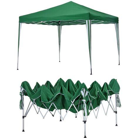 HI Foldable Pavillion 3x3 m Green