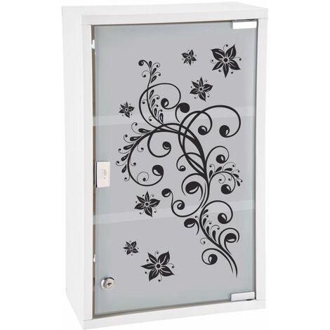 HI Medicine Cabinet 30x15x50 cm Stainless Steel