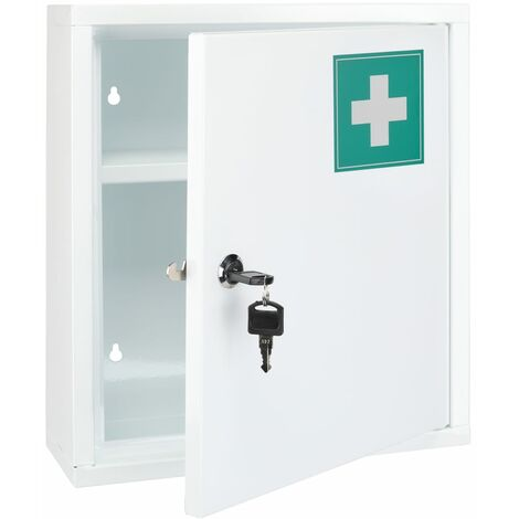 HI Medicine Cabinet 31.5x10x36 cm Steel