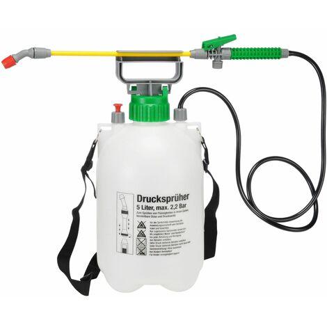 HI Pulverizador de alta presión 5 L - Blanco