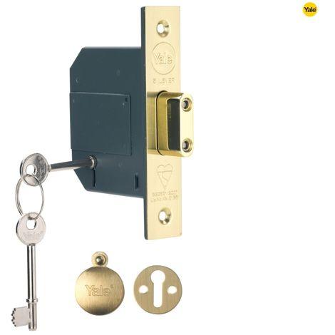Hi-Security BS 5 Lever Mortice Deadlock