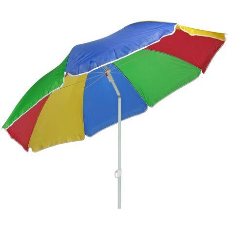 HI Sonnenschirm 150 cm Mehrfarbig