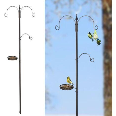 HI Standard Bird Feeding Station Black