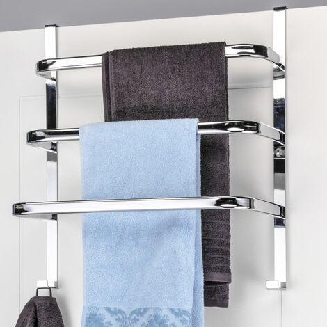 """main image of """"HI Towel Rail for Doors - Silver"""""""