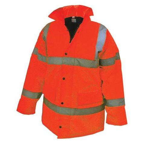 Hi-Vis Motorway Jackets Orange