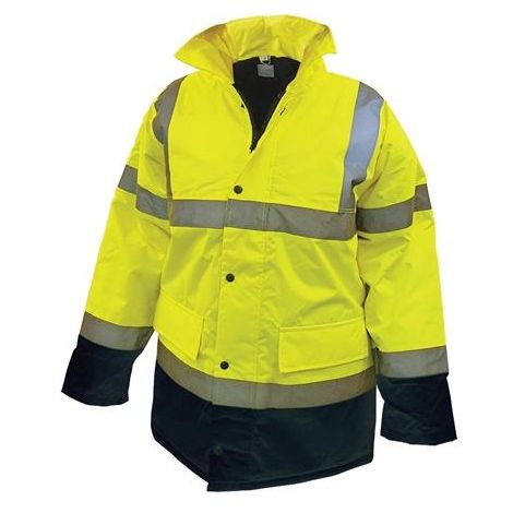 Hi-Vis Motorway Jackets Yellow