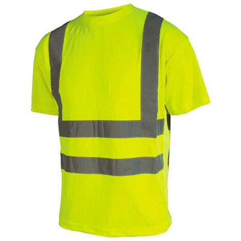 Hi-Vis T-shirt - Short Sleeves - Neon Yellow - 3XL