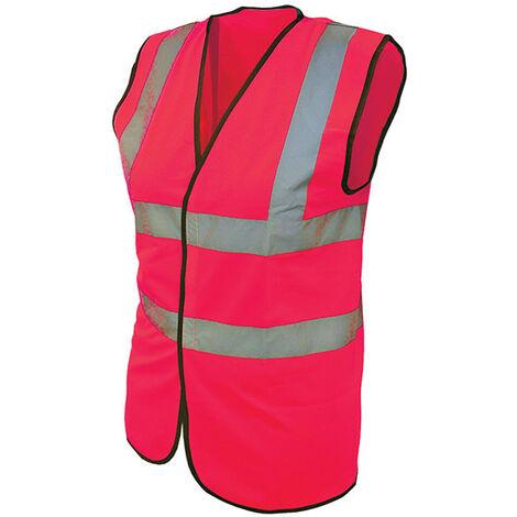 Hi-Vis Waistcoats Pink