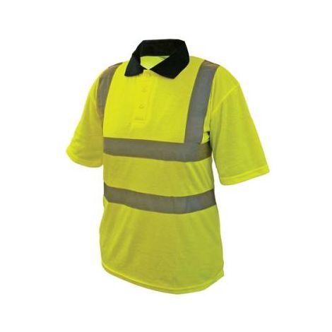 Hi-Vis Yellow Polo Shirt