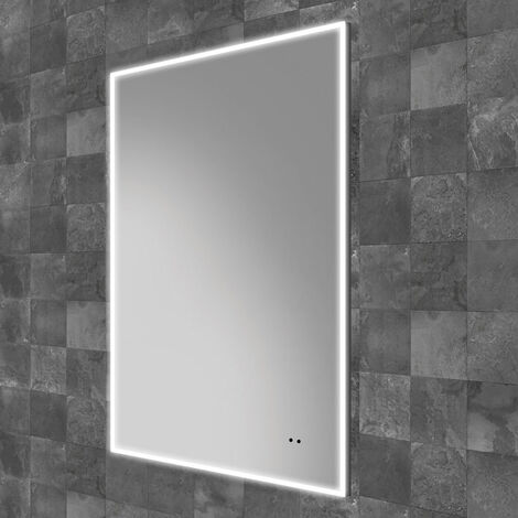 HiB Air 50 LED Bathroom Mirror 800mm H x 500mm W