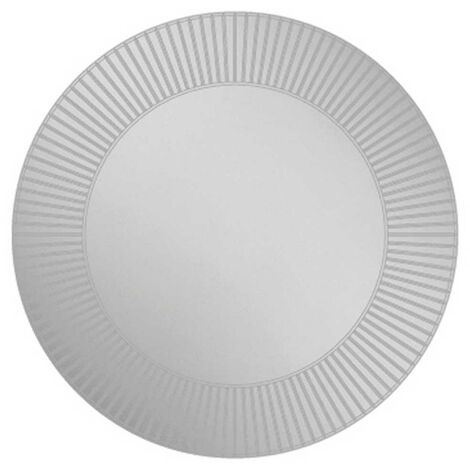 HiB Arte 80 Designer Round Bathroom Mirror 800mm Diameter