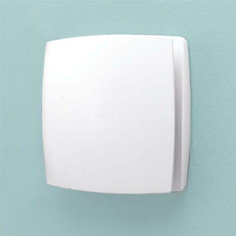 HIB Breeze Wall Mounted Bathroom Timer Fan White