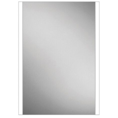 HiB Connect 50 Designer LED Bathroom Mirror 700mm H x 500mm W
