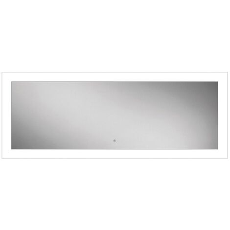 HiB Element 120 LED Bathroom Mirror with Charging Frame 600mm H x 1200mm W