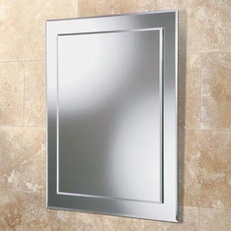 HiB Emma Designer Bathroom Mirror 500mm H x 400mm W