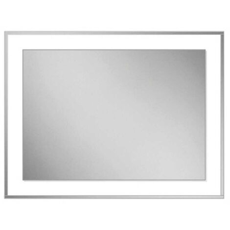 HiB Georgia 60 Designer Bathroom Mirror 800mm H x 600mm W