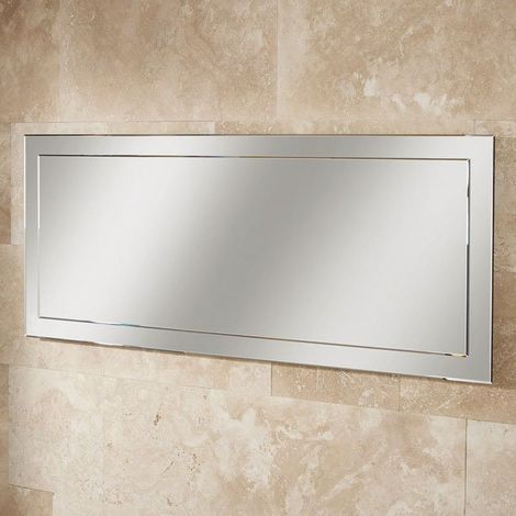HiB Isis Designer Bathroom Mirror 500mm H x 1200mm W