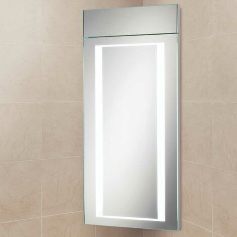 HiB Minnesota LED Illuminated Bathroom Cabinet 630mm H x 300mm W x 180mm D