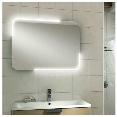 Hib Orb 60 Led Illuminated Mirror Sensor Switch Landscape Ip44