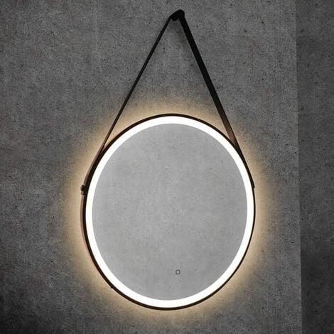 "main image of ""HiB Solstice 60 LED Bathroom Mirror 600mm Diameter"""