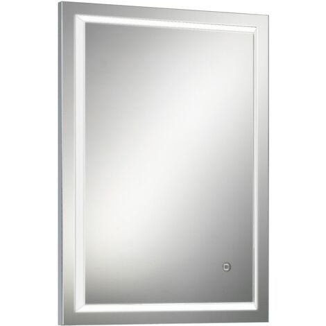 HiB Spectre 50 LED Bathroom Mirror 700mm H x 500mm W