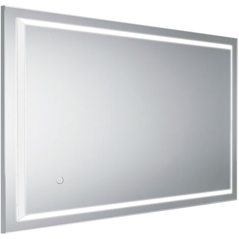 HiB Spectre 60 LED Bathroom Mirror 800mm H x 600mm W