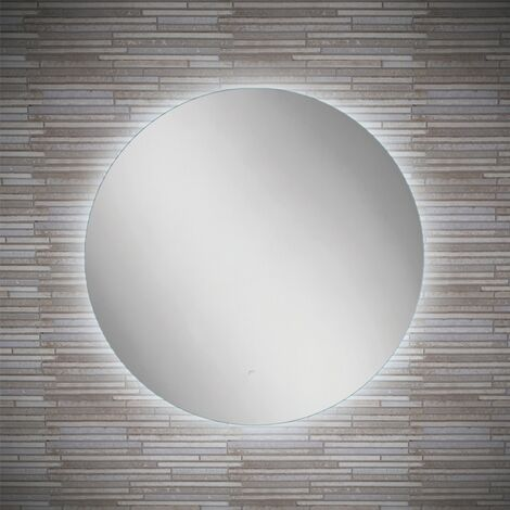 HiB Theme 60 Round LED Bathroom Mirror 600mm Diameter