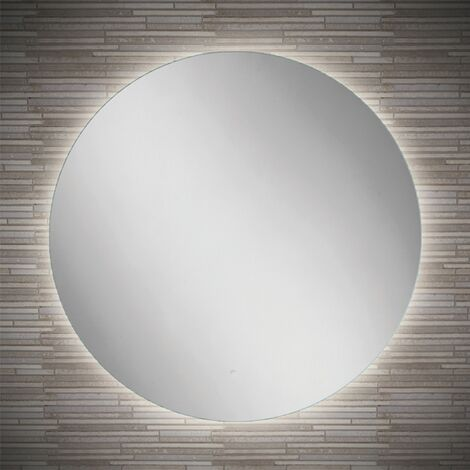 HiB Theme 80 Round LED Bathroom Mirror 800mm Diameter