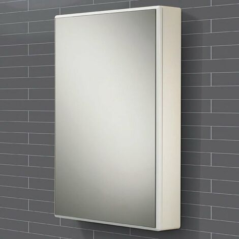 HiB Tulsa Mirrored Bathroom Cabinet 700mm H x 500mm W x 100mm D