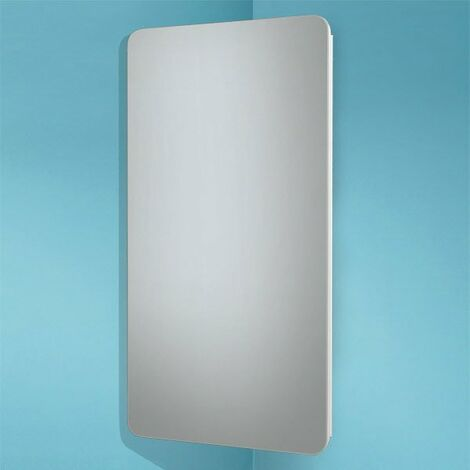 HiB Turin Mirrored Bathroom Cabinet 600mm H x 300mm W x 180mm D