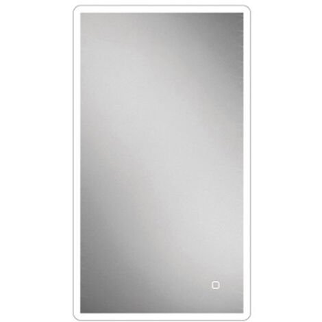 HiB Vega 40 LED Bathroom Mirror 800mm H x 400mm W