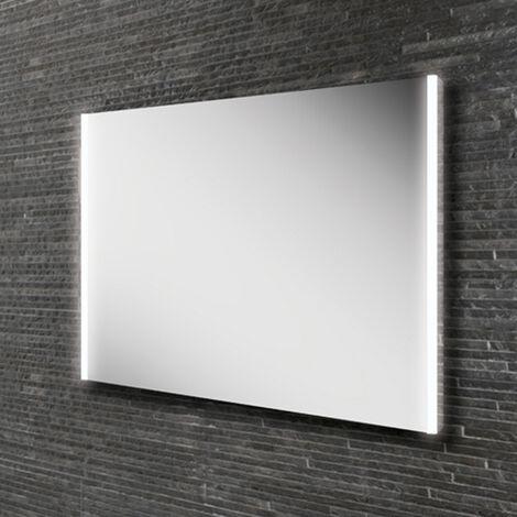 HiB Zircon 80 Demistable LED Bathroom Mirror 600mm H x 800mm W