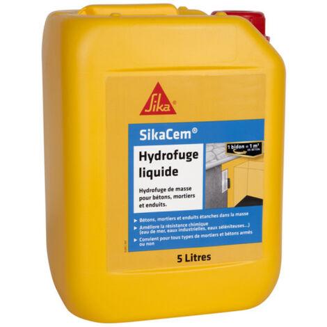 Hidrofugante para hormigón y mortero SIKA SikaCem Hidrofugante líquido - 500ml