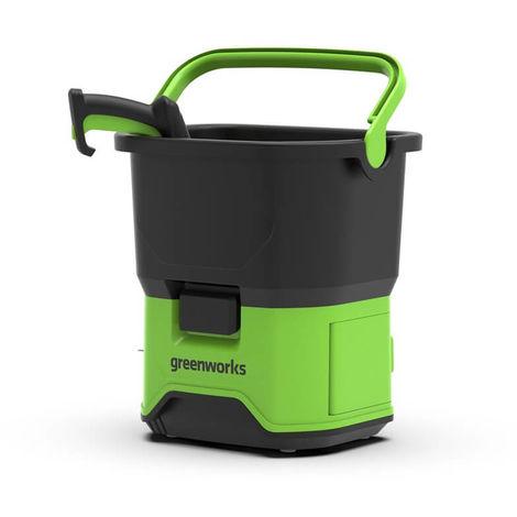 Hidrolimpiadora a batería Greenworks 70 bar GDC40. Sin batería ni cargador.