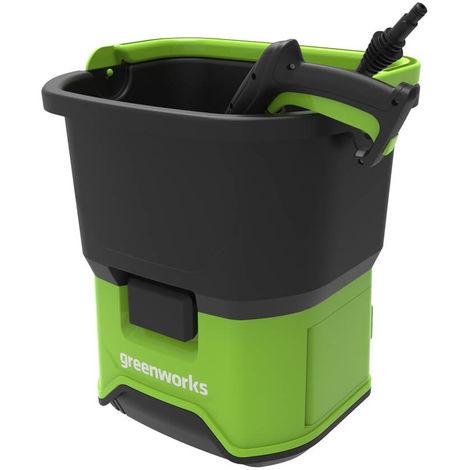 Hidrolimpiadora a batería Greenworks 70 bar GDC60. Sin batería ni cargador