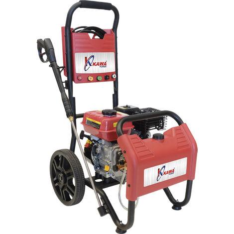 Hidrolimpiadora com motor a gasolina, máx. 18 Mpa 180 bar/ 25 Mpa 250 bar / 8,3 L/Min / 9,3 L/Min