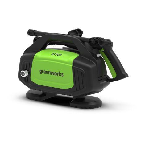 Hidrolimpiadora eléctrica Greenworks 100 bar G10