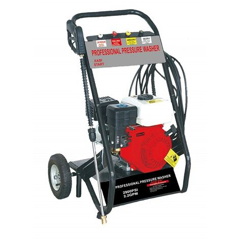 Hidrolimpiadora Gasolina 2900 PSI Potencia de alta presión HHPW170 portátil de alta calidad