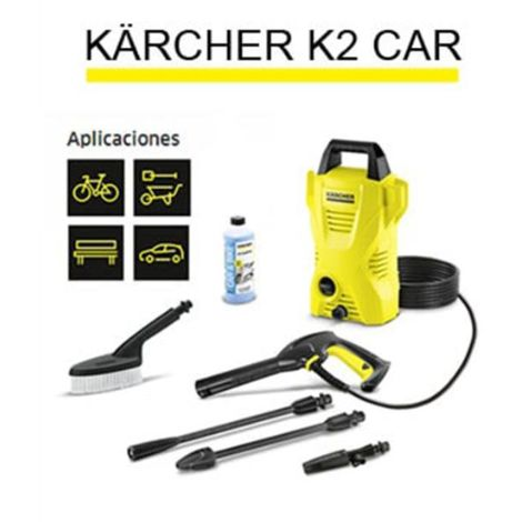Hidrolimpiadora K2 Basic Car 54,11 110 Bar