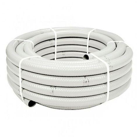Hidrotubo PVC blanco reforzado para desagüe aire acondicionado -Disponible en varias versiones