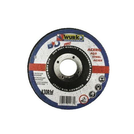 Hierro disco abrasivo 115x3x22 corte