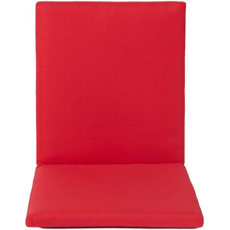 High Back Chair Cushion Pad Cover
